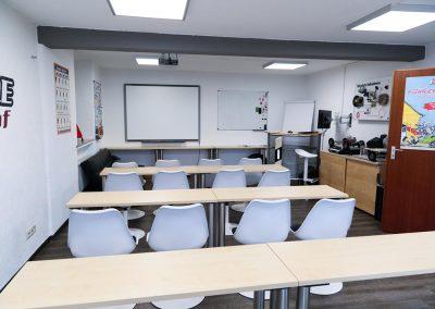 Theorieunterrichtsraum